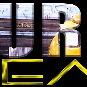 AE86 Levin - EUROBEAT by dsgcreations