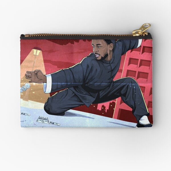 Kung Fu Kenny Zipper Pouch
