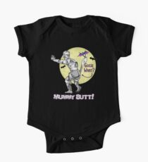 Halloween Humor - Guess What? Mummy Butt! Kids Clothes