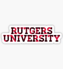 Rutgers - Style 40 Sticker