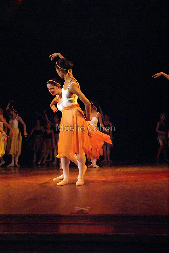 Ballet show #2 by Moshe Cohen