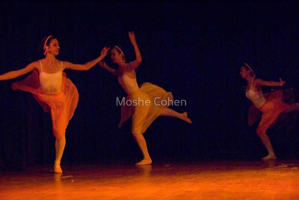 Ballet show #4 by Moshe Cohen
