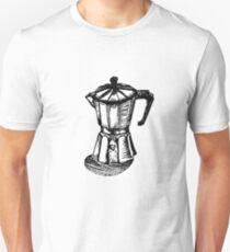 Linocut Espresso  T-Shirt