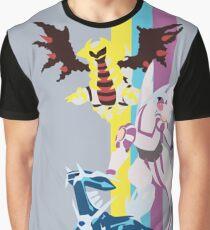 Palkia, Dialga y Giratina Pokémon / Palkia, Dialga and Giratina Pokémon Graphic T-Shirt