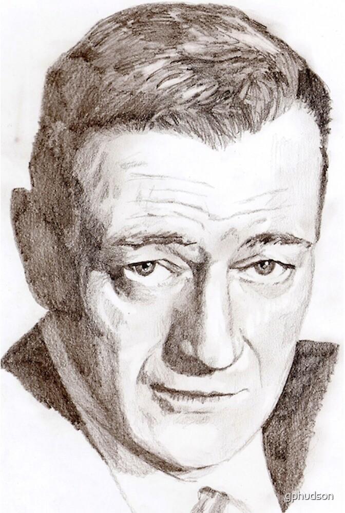 John Wayne by gphudson