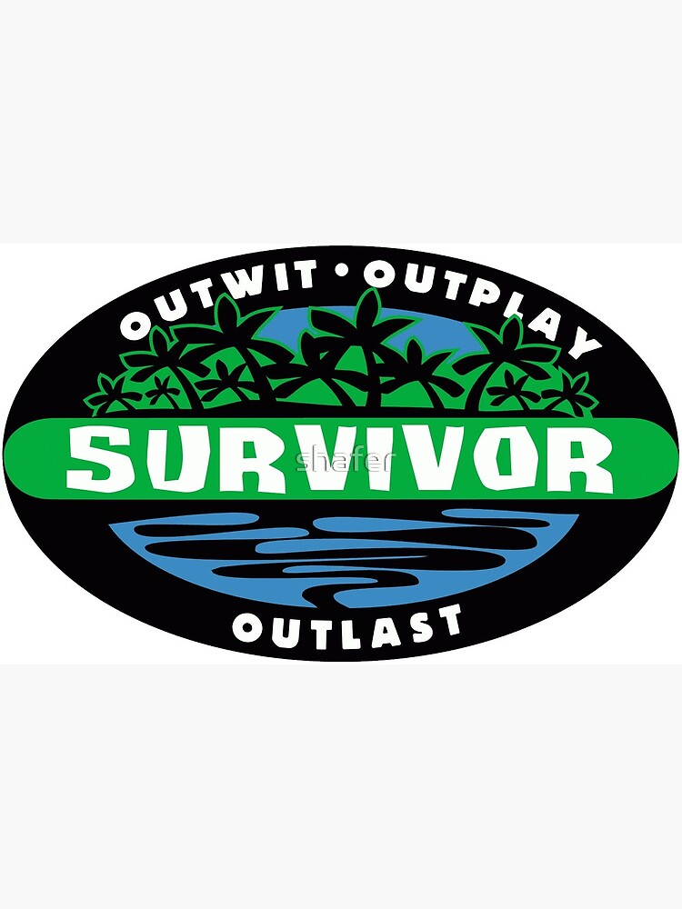 Survivor Logo Postcard By Shafer Redbubble 2,000+ vectors, stock photos & psd files. redbubble