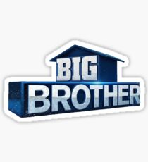 Big Brother Logo Sticker