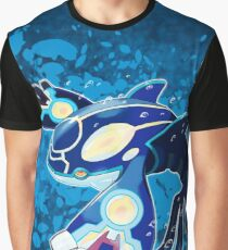 Kyogre Pokémon Zafiro / Kyogre Pokémon Zaphire Graphic T-Shirt