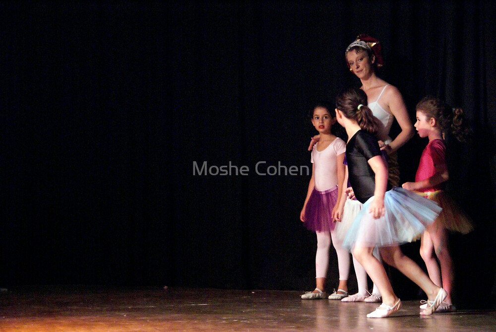 Ballet show #25 by Moshe Cohen