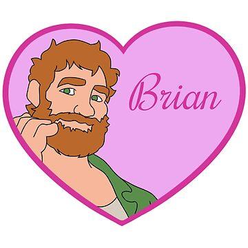 Brian Harding Love Heart by ultimatesongbir