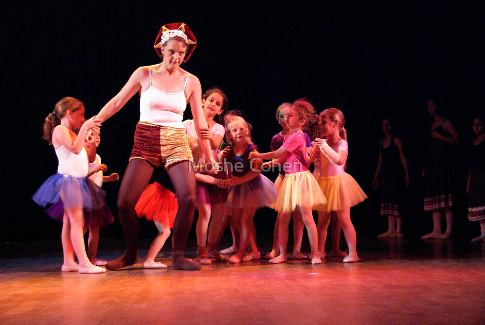 Ballet show #27 by Moshe Cohen