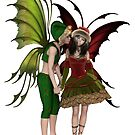 Christmas Fairy Kiss by algoldesigns