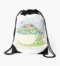 Tea Island Drawstring Bag