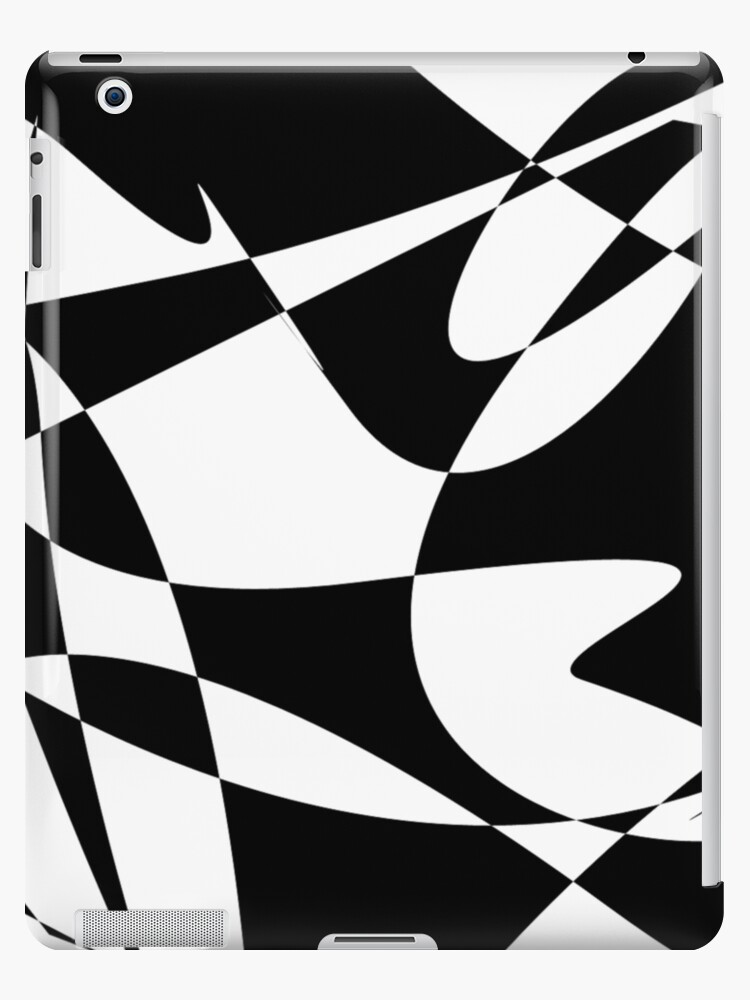 'Abstract 01 -(190817)- Adobe Photoshop CS2/Mouse drawn' iPad Case/Skin by  paulramnora