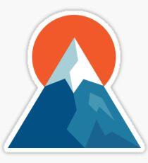 Sunrise Mountain Sticker
