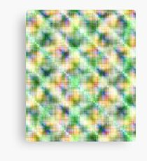 Colorful multicolored abstract pattern. Canvas Print