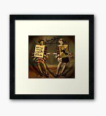 """Mala mujer"" Framed Print"