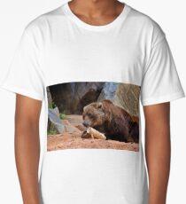 Teddy Bear At Play Long T-Shirt