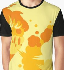 Fire Kirby Graphic T-Shirt