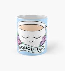Equali-Tea • riotcakes Original • Cute Equality Pun Tea Cup Mug