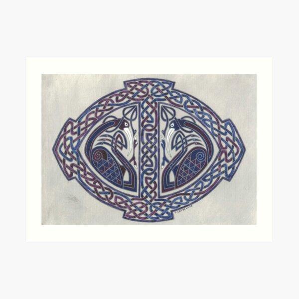 two Ibis's  Art Print