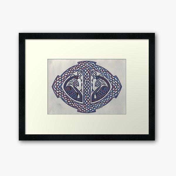 two Ibis's  Framed Art Print