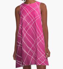 Fuchsia A-Line Dress