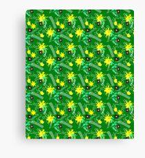 Cute baby pattern Canvas Print