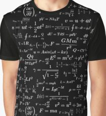 Physics - white on black Graphic T-Shirt