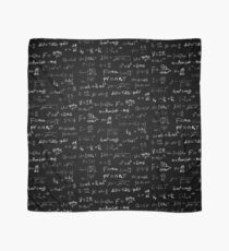 Physics - handwritten Scarf