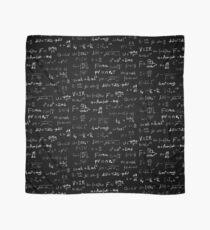 Physics - handwritten Scarf