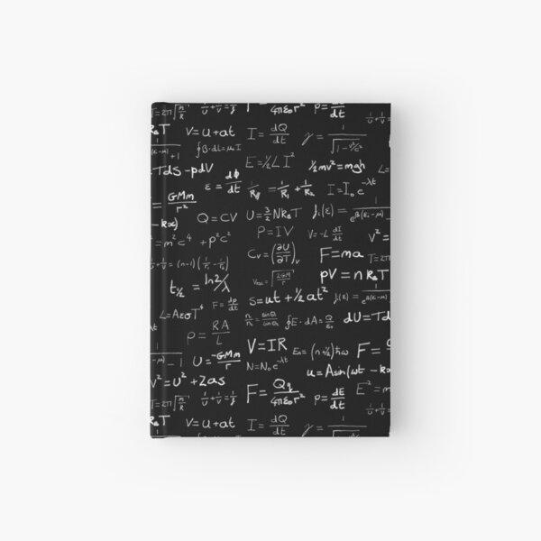 Physics - handwritten Hardcover Journal