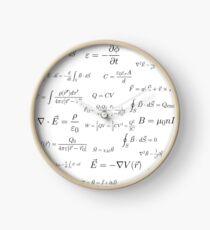 Physics - electromagnetism Clock