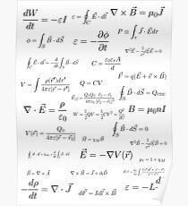 Physik - Elektromagnetismus Poster