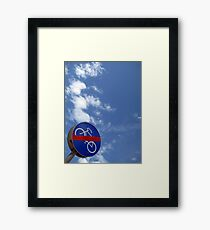 ...no bicycles in heaven... Framed Print