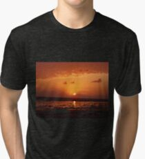 Stone on the sunset Tri-blend T-Shirt