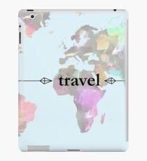 Travel Map iPad Case/Skin