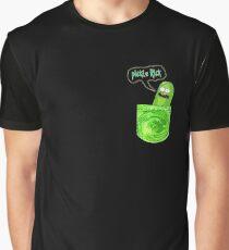 Pocket Pickle Rick Graphic T-Shirt