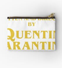 Inglourious Basterds | Written and Directed by Quentin Tarantino Zipper Pouch