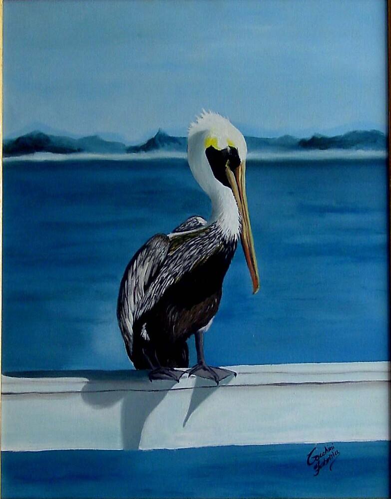 Mr. Pelikan by Fabrizia Tocchini