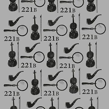 Sherlock Holmes Pattern by CrowCragg