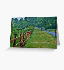 WASTED LANES Greeting Card