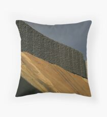 Golden Bank Throw Pillow