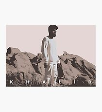 KHALID Photographic Print