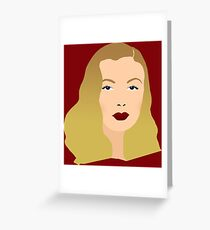 Veronica Lake Greeting Card