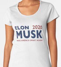 Elon Musk 2020 - Make America Smart Again! Women's Premium T-Shirt