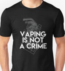 Vaping is not a Crime T-Shirt