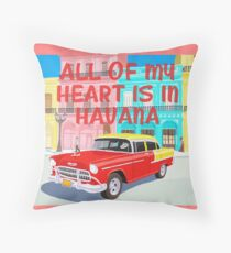 Camila Cabello Havana Throw Pillow