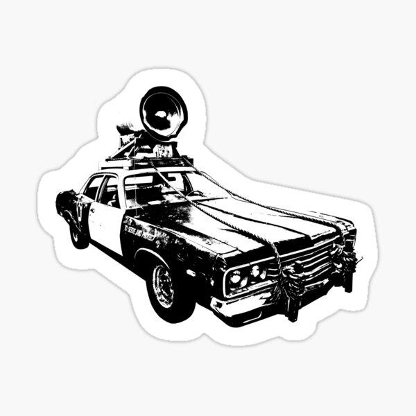 The Bluesmobile Sticker