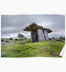 Poulnabrone dolmen , County Clare, Ireland Poster